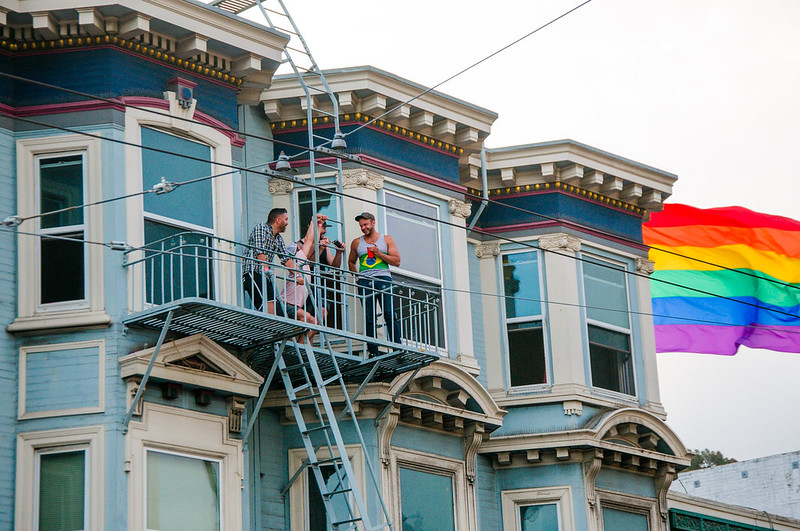 Find gay or lesbian roommates in San Francisco - Photo by Mitch Altman